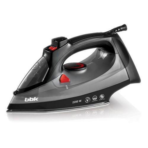 Утюг BBK ISE-2202, 2200Вт, черный/ серый [ise-2202 (b/dg)]