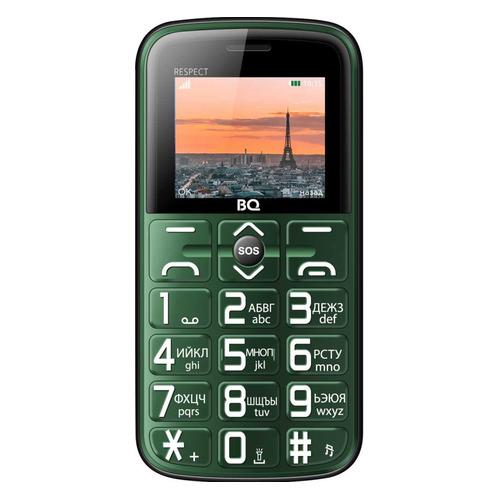 Мобильный телефон BQ Respect 1851, зеленый