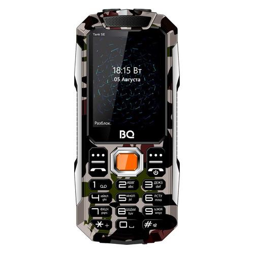 Мобильный телефон BQ Tank SE 2432, камуфляж/серебристый
