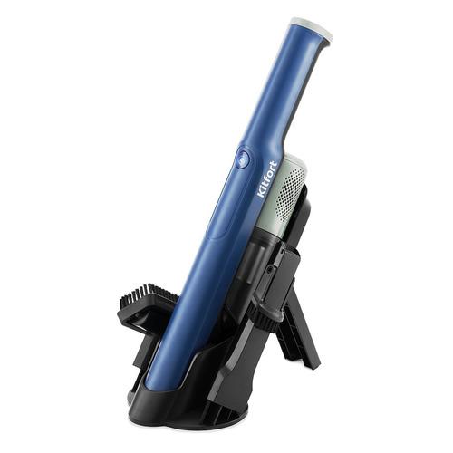 Ручной пылесос (handstick) KITFORT KT-578, 120Вт, синий/черный ручной пылесос handstick kitfort кт 517 3 120вт зеленый серый
