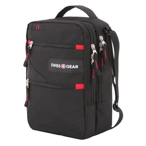сумка планшет wenger текстиль светло серый Сумка-планшет Wenger SWISSGEAR SA18262166 22x9x29см 0.36кг. полиэстер черный