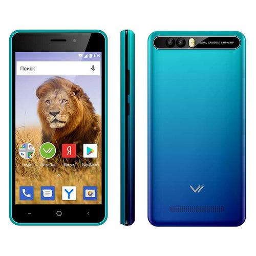 Смартфон VERTEX Impress Lion 3G Dual Cam 8Gb, морская волна