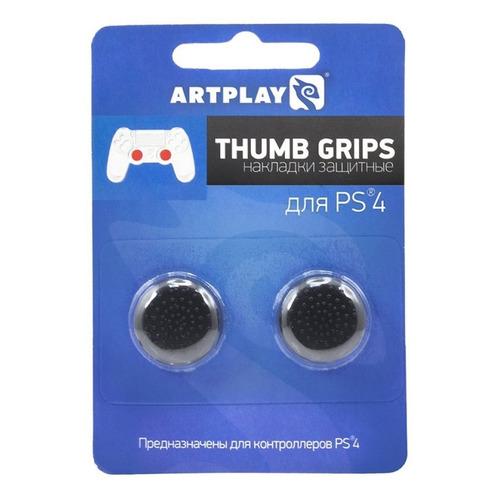 Накладки для кнопок контроллера ARTPLAYS Thumb Grips, для PlayStation 4, черный