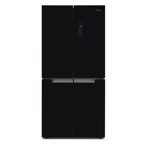 Холодильник MIDEA MRC518SFNGBL, трехкамерный, черный