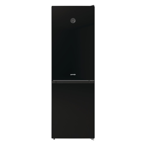 Холодильник GORENJE RK6191SYBK, двухкамерный, черный холодильник gorenje rk621syb4 черный двухкамерный
