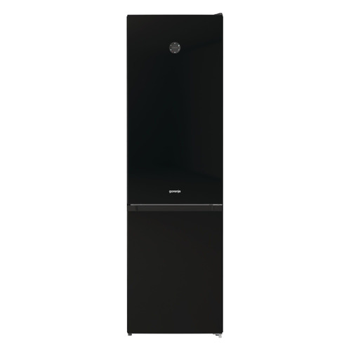 Холодильник GORENJE NRK6201SYBK, двухкамерный, черный холодильник gorenje rk621syb4 черный двухкамерный