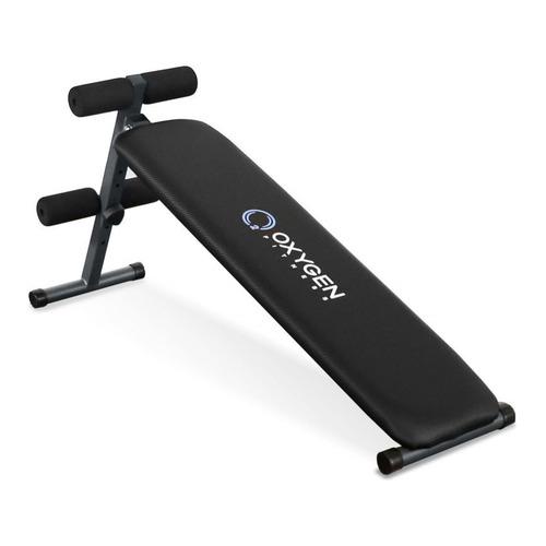Скамья для пресса OXYGEN Fitness Renton, черный скамья для пресса sport elit sb 1238 01