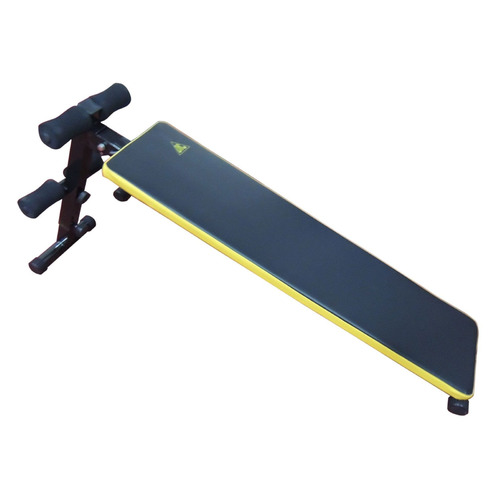 Скамья для пресса DFC черный/желтый [sj300] скамья для пресса sport elit sb 1238 01