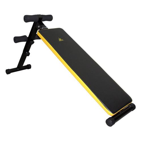 Скамья для пресса DFC черный/желтый [sj003-50] скамья для пресса sport elit sb 1238 01
