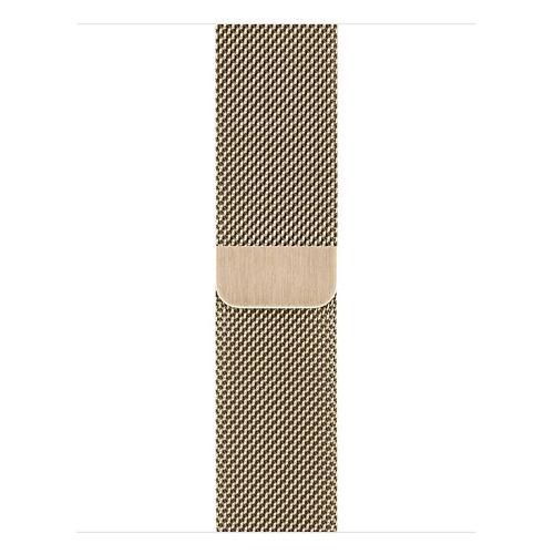 Фото - Ремешок Apple Milanese Loop для Apple Watch Series 3/4/5/6/SE золотистый (MYAM2ZM/A) 40мм ремешок apple milanese loop для apple watch series 3 4 5 6 se графитовый myaq2zm a 44мм