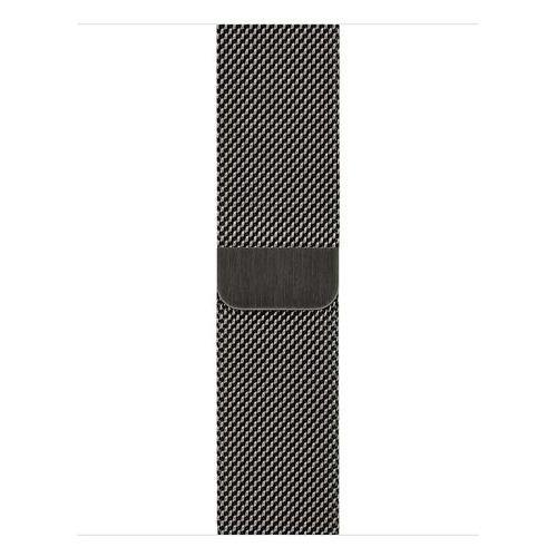 Фото - Ремешок Apple Milanese Loop для Apple Watch Series 3/4/5/6/SE графитовый (MYAN2ZM/A) 40мм ремешок apple milanese loop для apple watch series 3 4 5 6 se графитовый myaq2zm a 44мм
