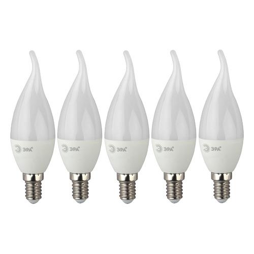 Фото - Упаковка ламп LED ЭРА E14, свеча на ветру, 6Вт, 4000К, белый нейтральный, ECO LED BXS-6W-840-E14, 5 шт. [б0040882] упаковка ламп led эра e14 свеча 6вт 4000к белый нейтральный b35 6w 840 e14 3 шт [б0020619]