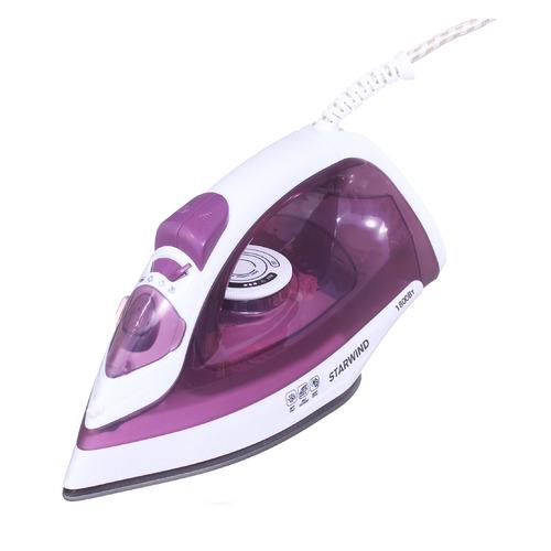 Фото - Утюг STARWIND SIR6921, 1800Вт, фиолетовый/ белый подошва тефлоновая lelit pa 205 1 для всех утюгов lelit