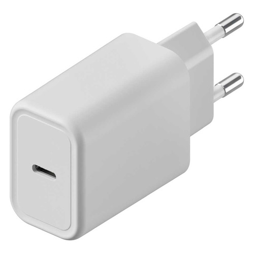 Сетевое зарядное устройство INTERSTEP USB type-C, 3A, белый