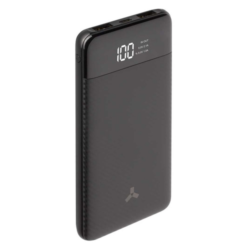Внешний аккумулятор (Power Bank) Accesstyle Seashell 10PD, 10000мAч, черный