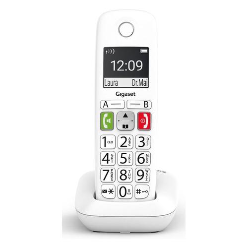 Радиотелефон GIGASET E290 SYS RUS, белый [s30852-h2901-s302]