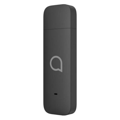 Фото - Модем ALCATEL Link Key IK41VE1 + СИМ карта Мегафон 2G/3G/4G, внешний, черный [k41ve1-2aalru1] модем zte mf833r 2g 3g 4g внешний черный
