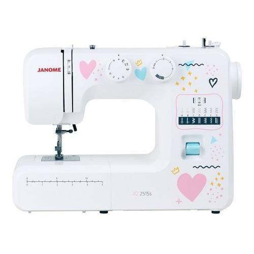 Швейная машина JANOME JQ 2515S белый