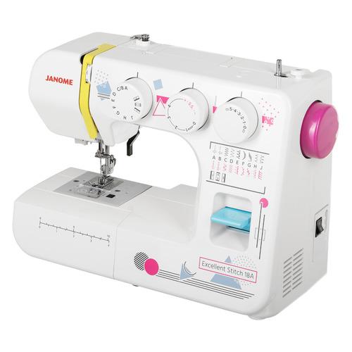 Швейная машина JANOME Excellent Stitch 18A белый