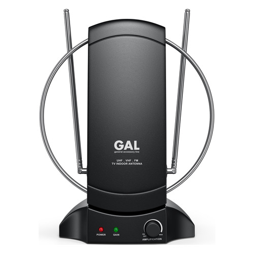 Фото - Телевизионная антенна GAL AR-468AW, комнатная комнатная антенна mystery mant 30tv