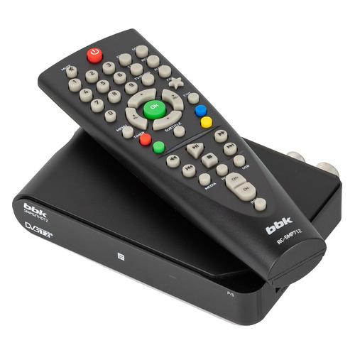 Ресивер DVB-T2 BBK SMP027HDT2, черный