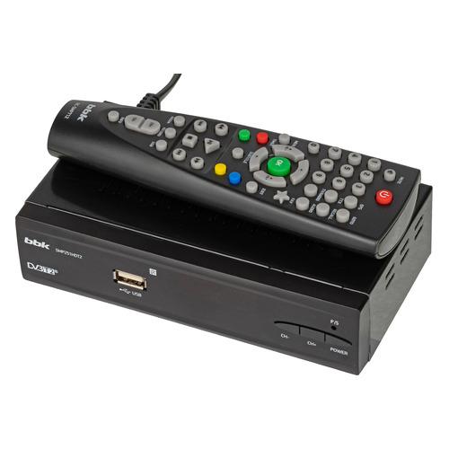Ресивер DVB-T2 BBK SMP251HDT2, черный