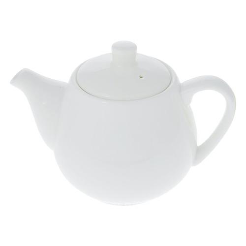 Фото - Чайник завароч. Wilmax WL-994030/1C 0.5л белый чайник завароч wilmax wl 994017 1c 0 8л белый