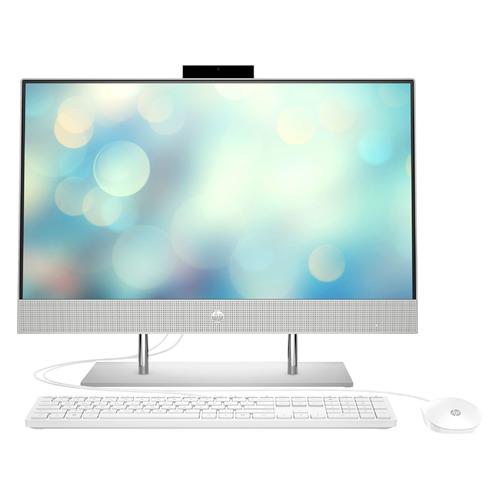 Фото - Моноблок HP 24-dp0051ur, 23.8, AMD Ryzen 5 4500U, 8ГБ, 256ГБ SSD, AMD Radeon Graphics, Free DOS 3.0, серебристый [2k4x0ea] моноблок hp 22 df0048ur 21 5 amd ryzen 3 3250u 8гб 1тб 128гб ssd amd radeon graphics free dos 3 0 белый [14p77ea]