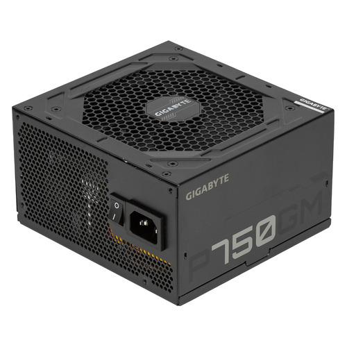 Блок питания Gigabyte GP-P750GM, 750Вт, 120мм, черный, retail