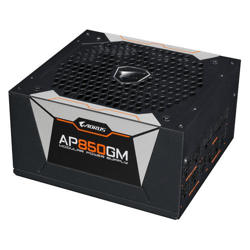 Блок питания GIGABYTE AORUS GP-AP850GM, 850Вт, 135мм, черный, retail [28200-ap85gm-1eur]