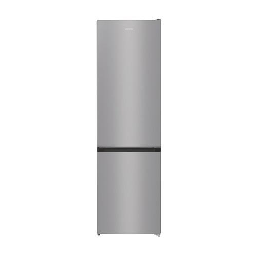 Холодильник GORENJE NRK6201PS4, двухкамерный, серебристый металлик холодильник gorenje rk621syb4 черный двухкамерный