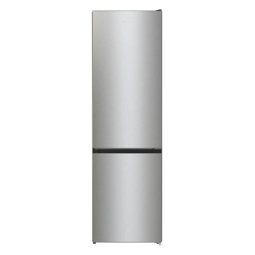 Холодильник GORENJE RK6201ES4, двухкамерный, серебристый металлик холодильник gorenje rk621syb4 черный двухкамерный