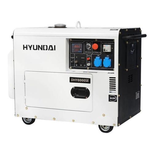 Дизельный генератор HYUNDAI DHY 8000SE, 230, 6.5кВт