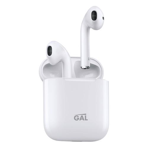 Фото - Гарнитура GAL Gal TW-3000, Bluetooth, вкладыши, белый гарнитура gal gal bh 1005 bluetooth вкладыши черный