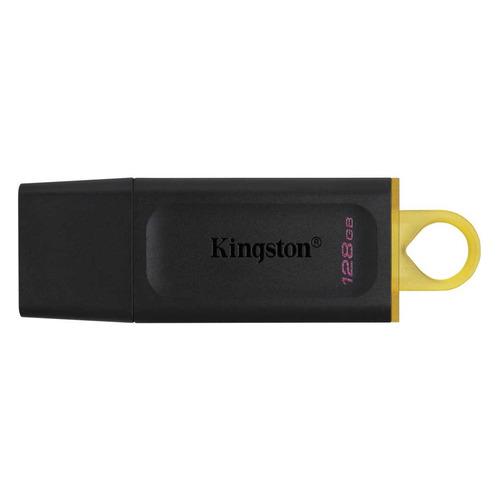 Фото - Флешка USB KINGSTON DataTraveler Exodia 128ГБ, USB3.1, черный и желтый [dtx/128gb] свежий и элегантный розовое золото no хлопок полотенце подарочной коробке два желтый 2185h