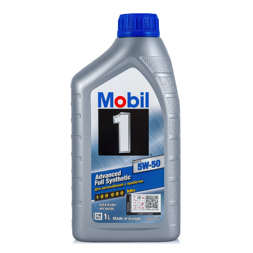 Моторное масло MOBIL 1 FS x1 5W-50 1л. синтетическое [153631] моторное масло mobil 1 fs x1 5w 50 20 л