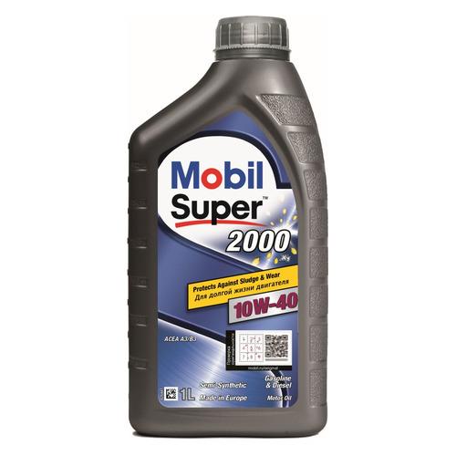 Моторное масло MOBIL Super 2000 x1 10W-40 1л. полусинтетическое [152569]