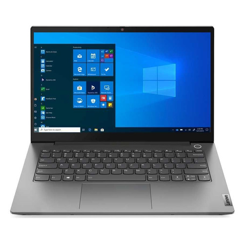 "Ноутбук LENOVO Thinkbook 14 G2 ITL, 14"", IPS, Intel Core i7 1165G7 2.8ГГц, 8ГБ, 512ГБ SSD, Intel Iris Xe graphics , Windows 10 Professional, 20VD000CRU, серый"