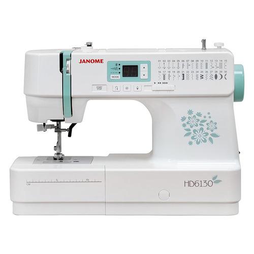 Швейная машина JANOME HD 6130 белый