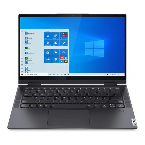 "Ноутбук-трансформер LENOVO Yoga 7 14ITL5, 14"", IPS, Intel Core i7 1165G7, Intel Evo 2.8ГГц, 16ГБ, 1ТБ SSD, Intel Iris Xe graphics , Windows 10, 82BH007TRU, серый"