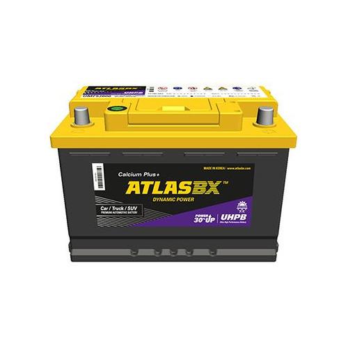 Аккумулятор автомобильный ATLAS UHPB 55Ач 480A [umf75b24l]