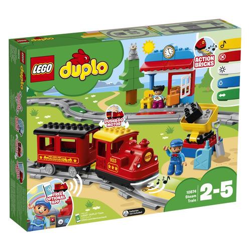 Конструктор LEGO Duplo Поезд на паровой тяге, 10874