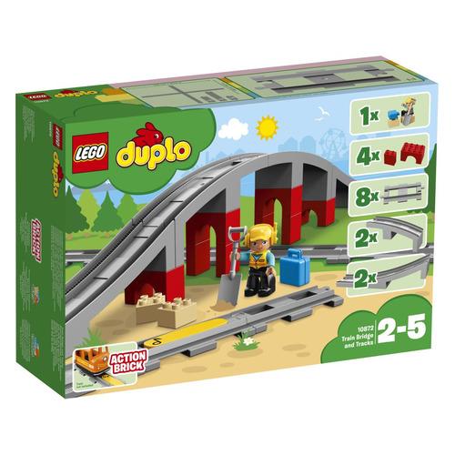 Конструктор Lego Duplo Железнодорожный мост, 10872