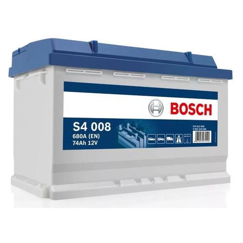 Аккумулятор автомобильный BOSCH S4 Silver 74Ач 680A [574 012 068 s40 080]