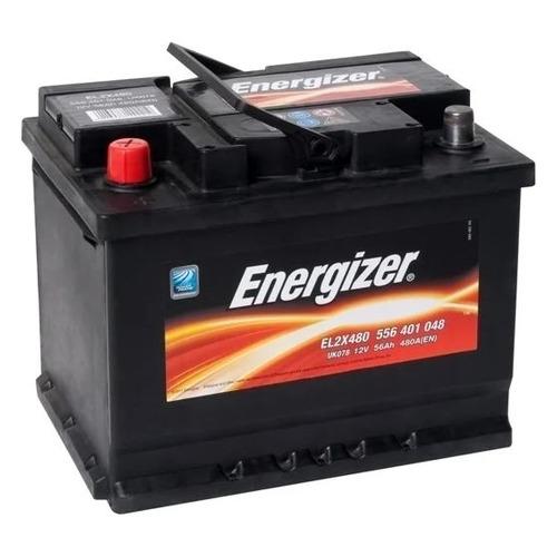 Аккумулятор автомобильный ENERGIZER Plus 56Ач 480A [556 401 048 el2x480]