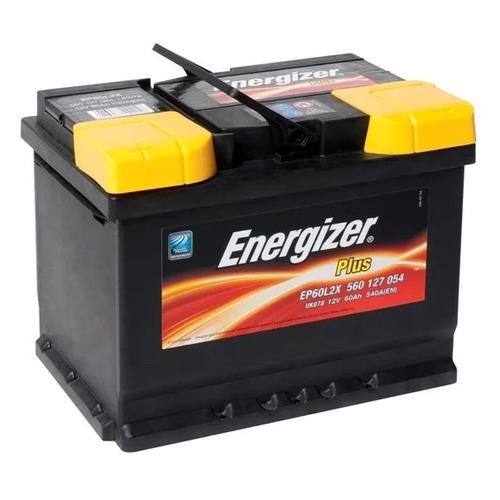 Аккумулятор автомобильный ENERGIZER Plus 60Ач 540A [560 127 054 ep60l2x]