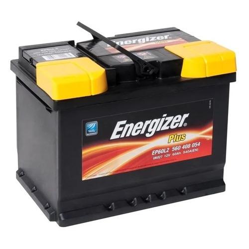 Аккумулятор автомобильный ENERGIZER Plus 60Ач 540A [560 408 054 ep60l2]
