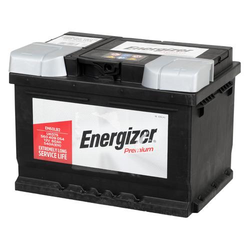 Аккумулятор автомобильный ENERGIZER Premium 60Ач 540A [560 409 054 em60lb2]