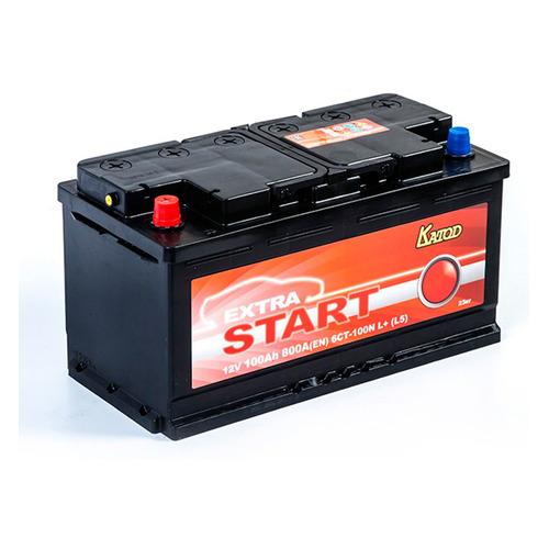 Аккумулятор автомобильный КАТОД EXTRA START Extra Start 100Ач 800A [6ст-100n l+ (l5)]