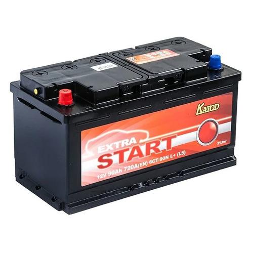 Аккумулятор автомобильный КАТОД EXTRA START Extra Start 90Ач 720A [6ст-90n l+ (l5)]